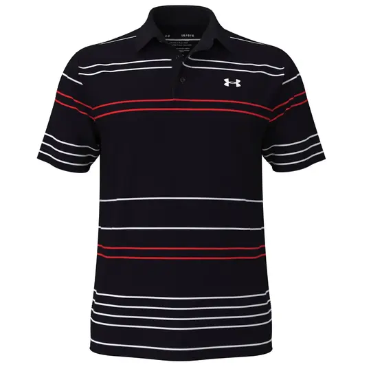Under Armour Playoff 2.0 Pitch Stripe Polo Shirt