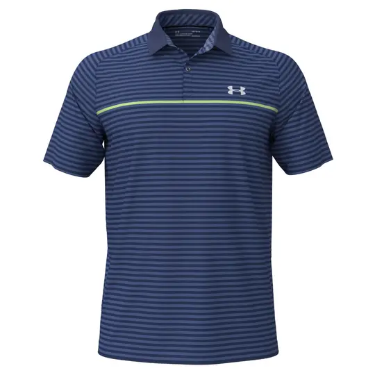 Under Armour Iso-Chill Hollen Stripe Polo Shirt